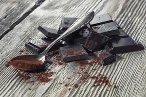 cioccolato fondente foto