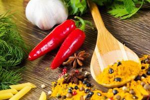 ingredienti da cucina