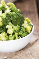 Broccoli cotti foto
