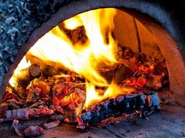 forno per pizza foto