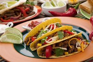 Tacos di manzo foto