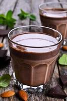 latte al cioccolato foto