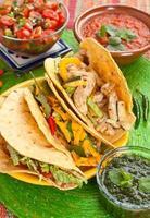 cibo messicano tradizionale foto