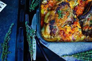 carne al forno foto