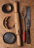 sfondo da forno vintage foto
