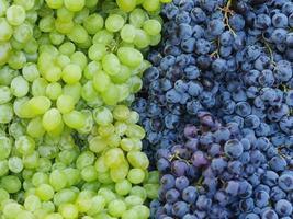 mercato uva da vino rosso foto