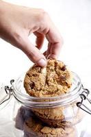 biscotti in barattolo foto