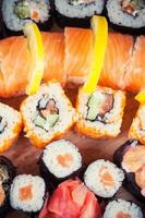 set di sushi maki foto