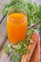 succo di carote foto