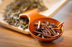 tè verde biologico foto