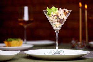 cocktail di gamberi foto