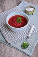 zuppa di Borgogna foto