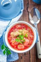 zuppa di barbabietole