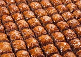 cibo dolce baklava foto