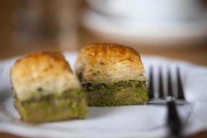 baklava perfetta con pistacchio foto