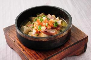 tofu vaso di pietra foto