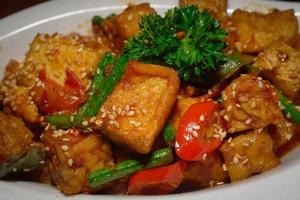 tofu e tempe foto
