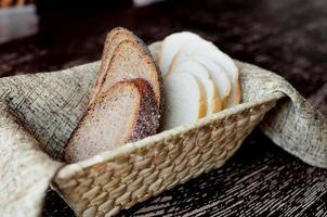 fette di pane foto