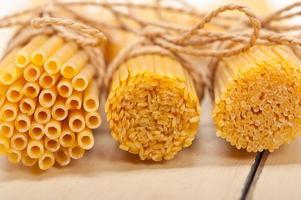 grappolo di pasta italiana foto