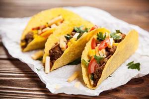 deliziosi tacos foto