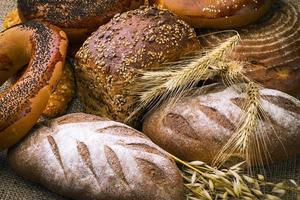 pane bianco fresco foto
