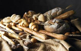 natura morta con pane