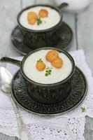 zuppa di cavolfiore foto