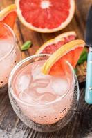 cocktail di pompelmo foto