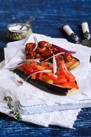 melanzane con verdure foto