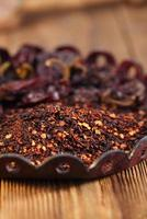 chipotle - peperoncino affumicato jalapeno foto