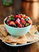 salsa di frutti di bosco dolce e piccante foto