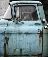 camion stagionato foto