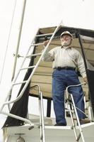 capitano della barca foto