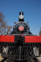 treno a vapore foto