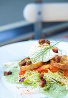 insalata di Lione fresca foto
