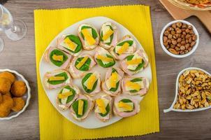 celebrazione del pasto di San Silvestro foto