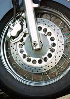 motociclo della ruota foto