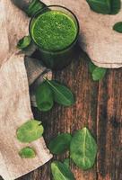 bevanda agli spinaci