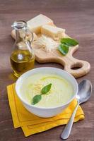 zuppa di crema di verdure