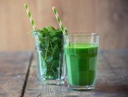 frullato di spinaci foto