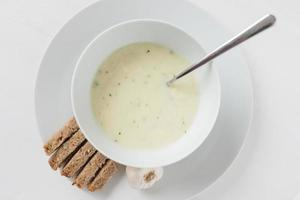 zuppa d'aglio foto