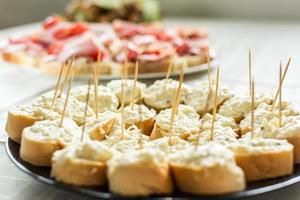 tartine all'aglio foto