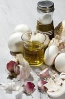 funghi all'aglio foto