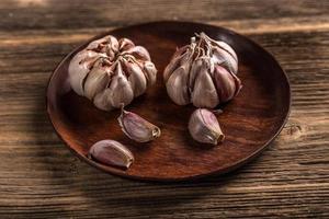 bulbo d'aglio foto