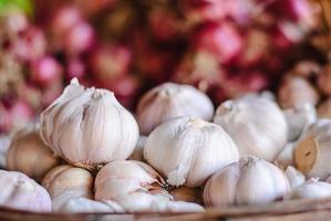cipolle e aglio