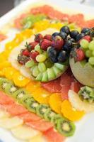 decorazione di frutta foto