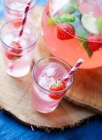 succo di frutta fatto in casa foto