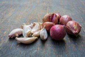 aglio e cipolla rossa