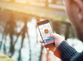 dispositivo smart home - domotica foto