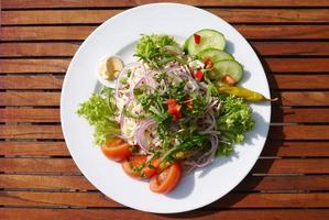 insalata di salsiccia di Strasburgo